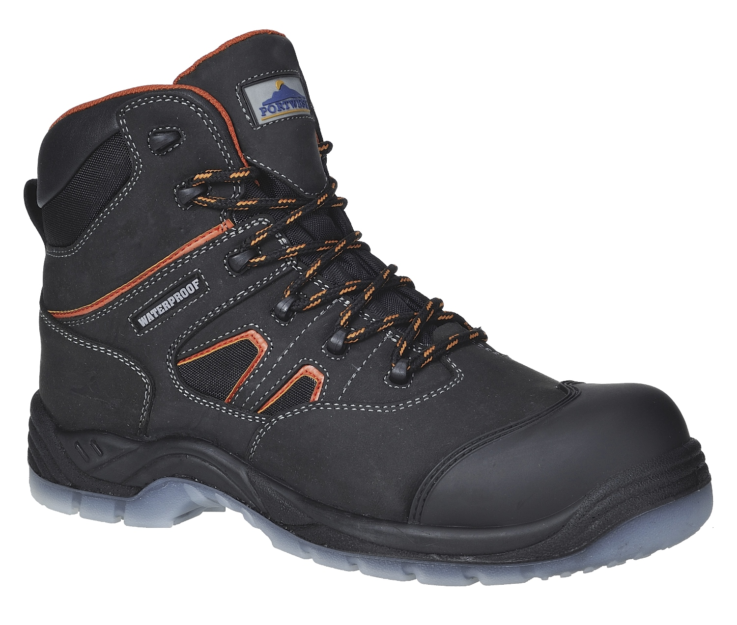 portwest fc57 mens safety boots metal free toe cap
