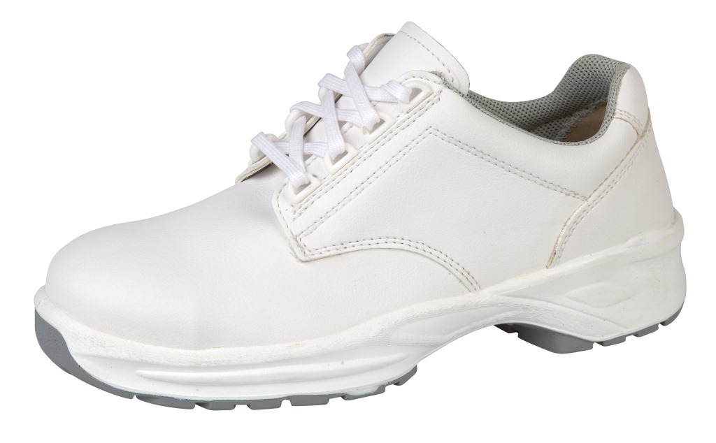himalayan white safety shoes unisex hygiene microfiber