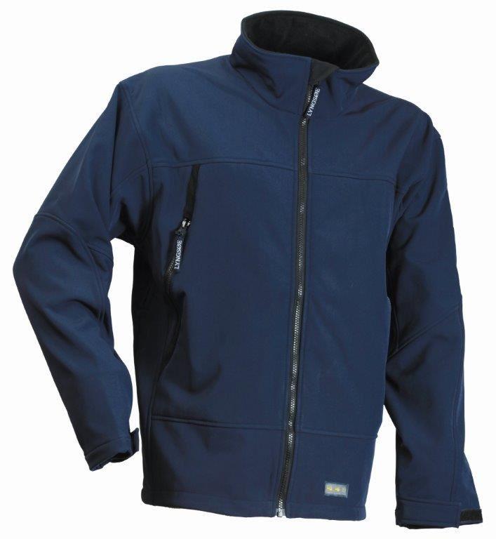 Lyngsoe Fox Men Fleece Jacket Softshell Windproof Waterproof ...