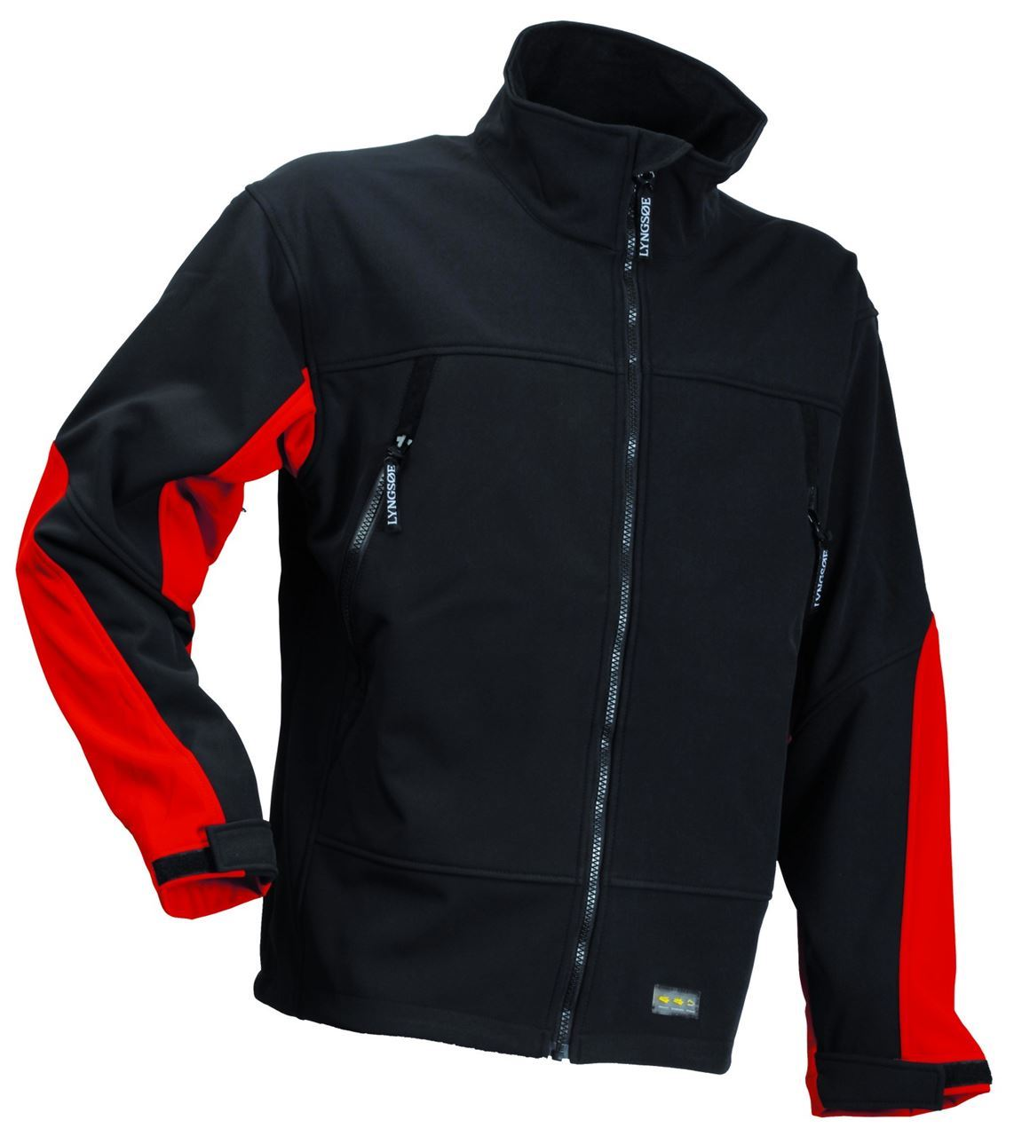 Lyngsoe Fox Men Fleece Jacket Softshell Windproof Waterproof ...