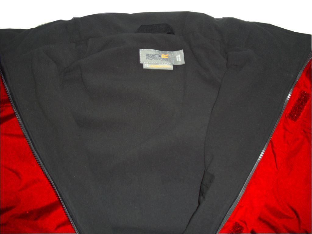 Regatta TRW297 Dover Men Jacket Size Waterproof Hydrafort Fleece ...