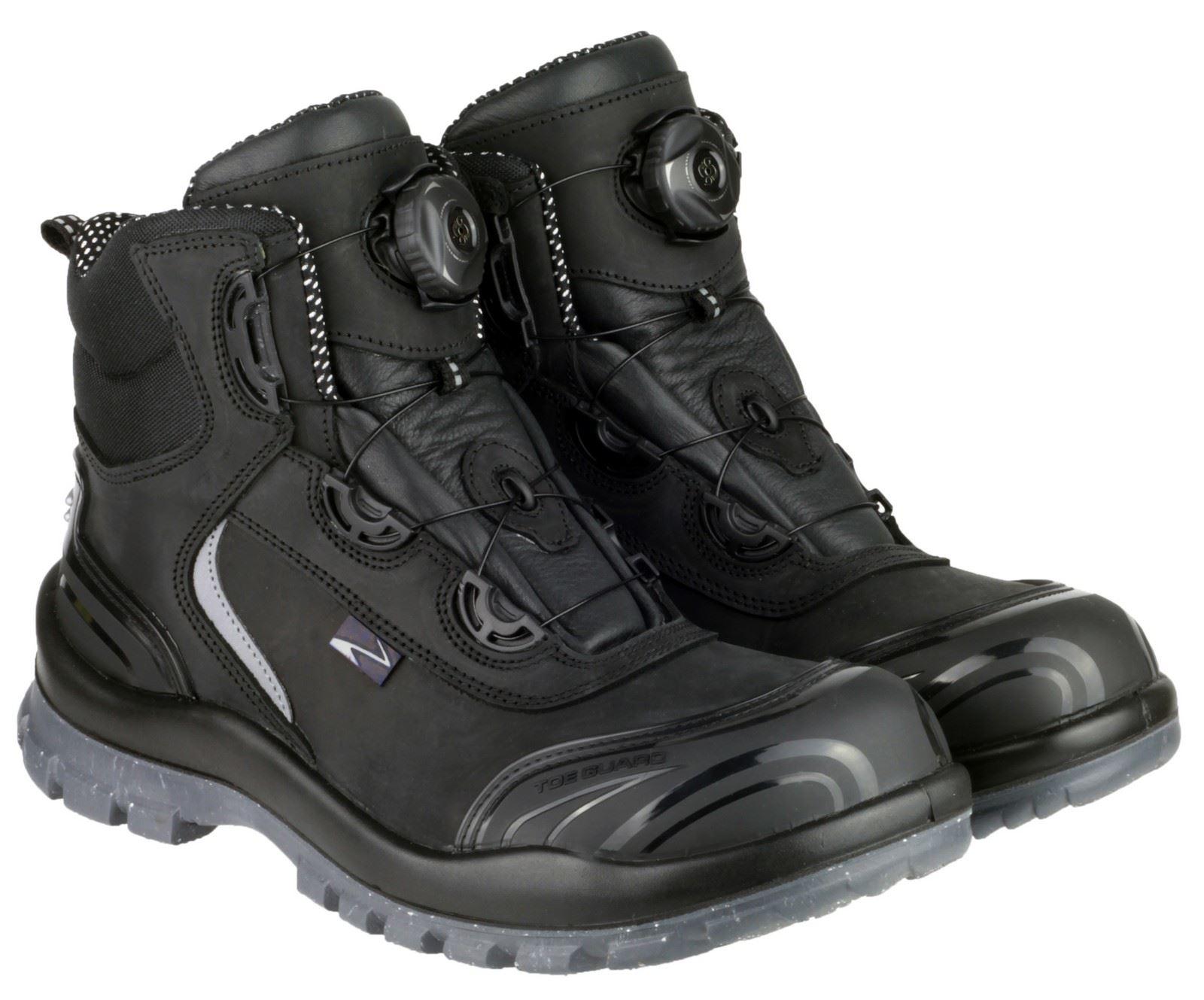 Pezzol Moonwalker Mens Safety Boots Steel Toe Cap