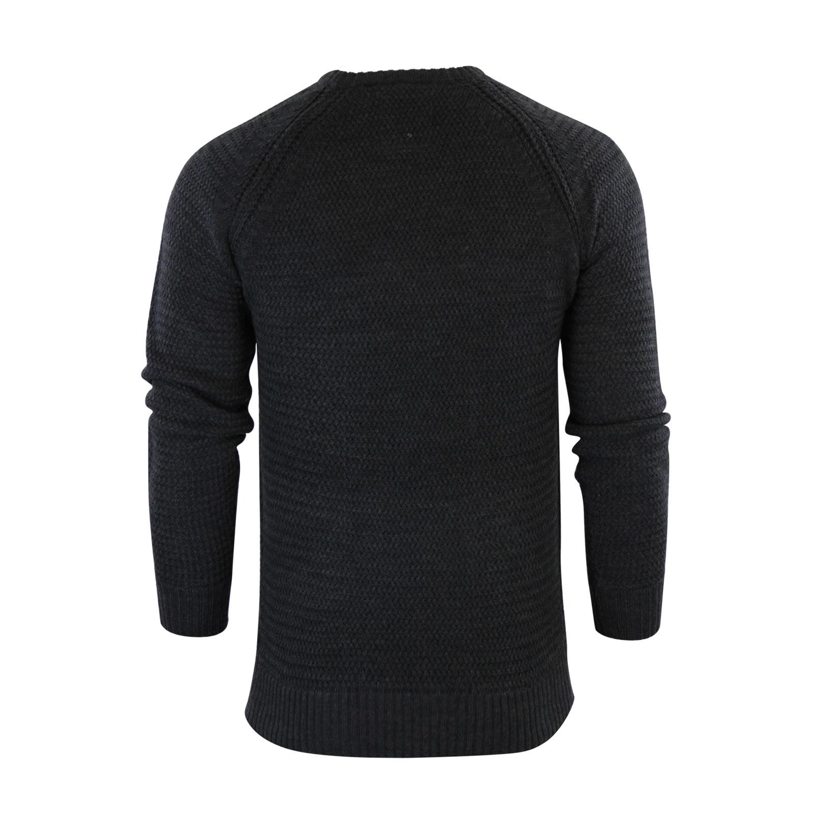 herren-pullover-brave-soul-columbia-weave-strick-rundhals-winterpulli Indexbild 3