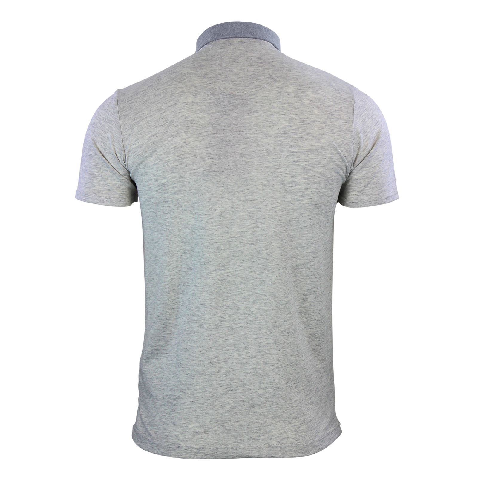 Mens-Polo-T-Shirt-Brave-Soul-Chimera-Chambray-Collared-Cotton-Casual-Top thumbnail 12