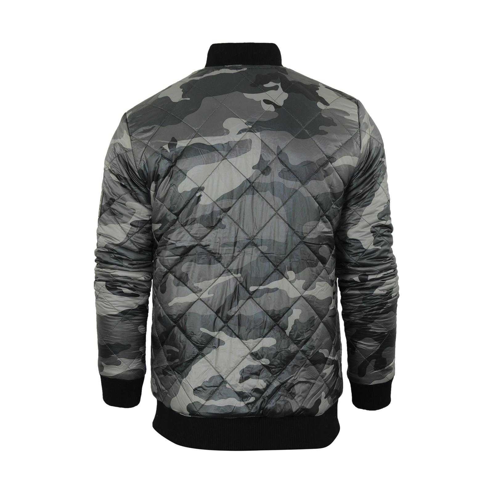 miniature 6 - Veste-homme-smith-amp-jones-roman-camouflage-militaire-MA1-bomber-harrington-manteau