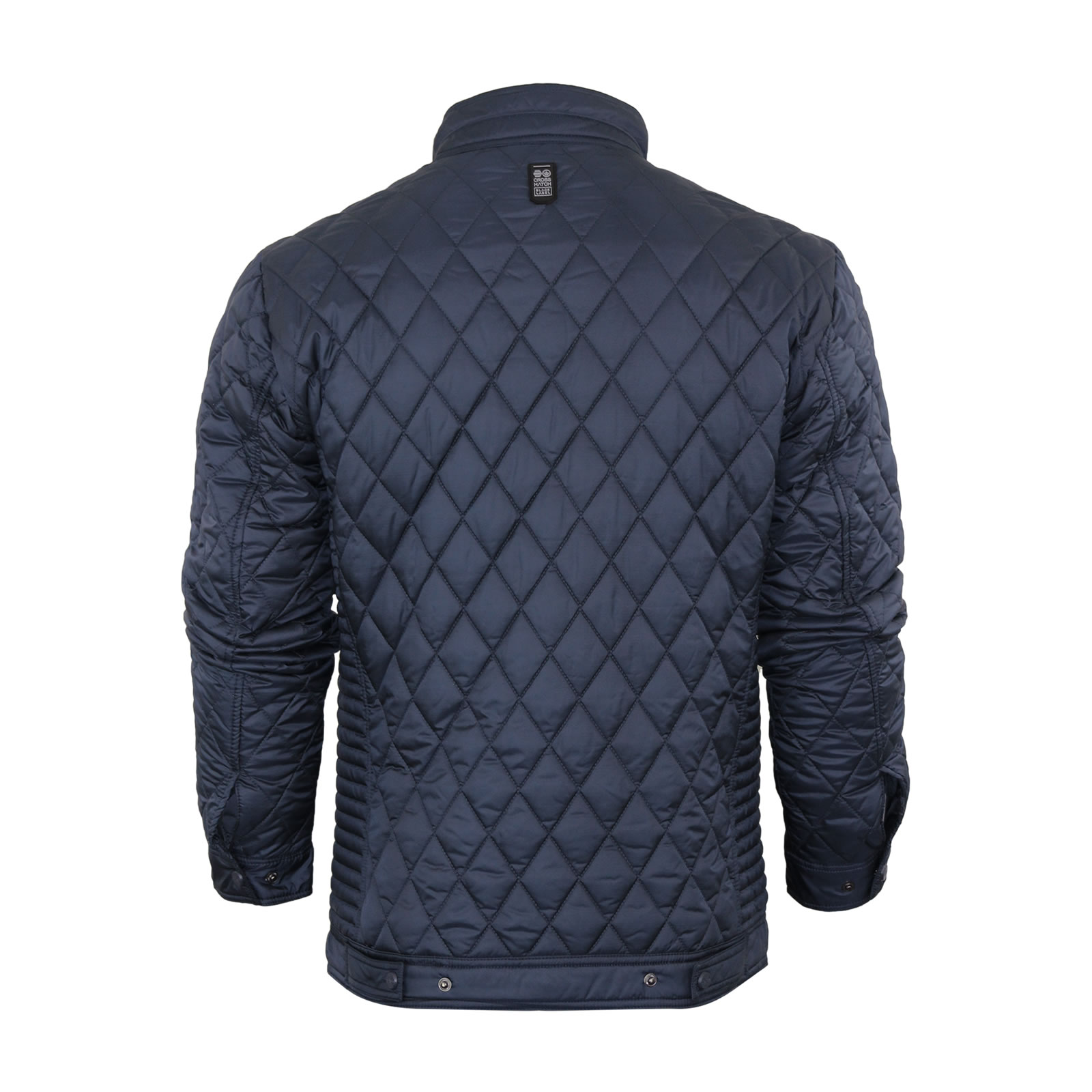 Mens quilted jacket crosshatch quilts diamond hunter for Quilted jackets for men