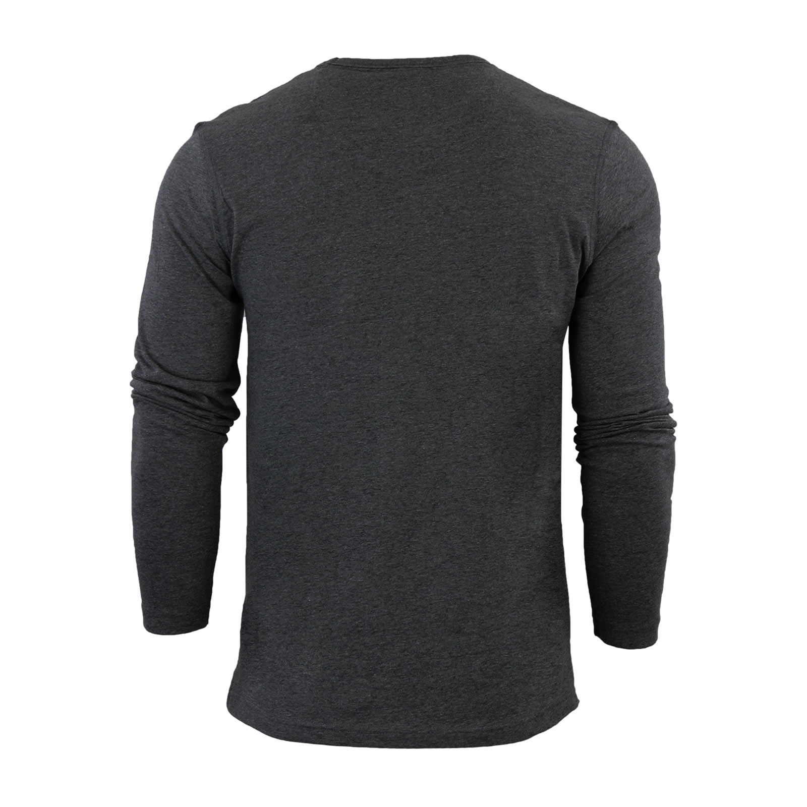 Mens-T-Shirt-by-Brave-Soul-Prague-Cotton-Long-Sleeved-Crew-Neck-Casual-Top thumbnail 6