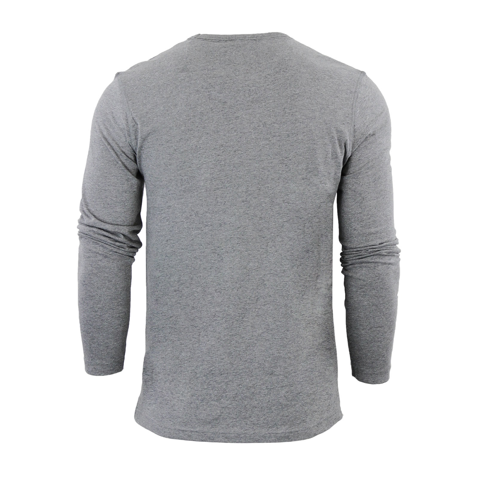 Mens-T-Shirt-by-Brave-Soul-Prague-Cotton-Long-Sleeved-Crew-Neck-Casual-Top thumbnail 12