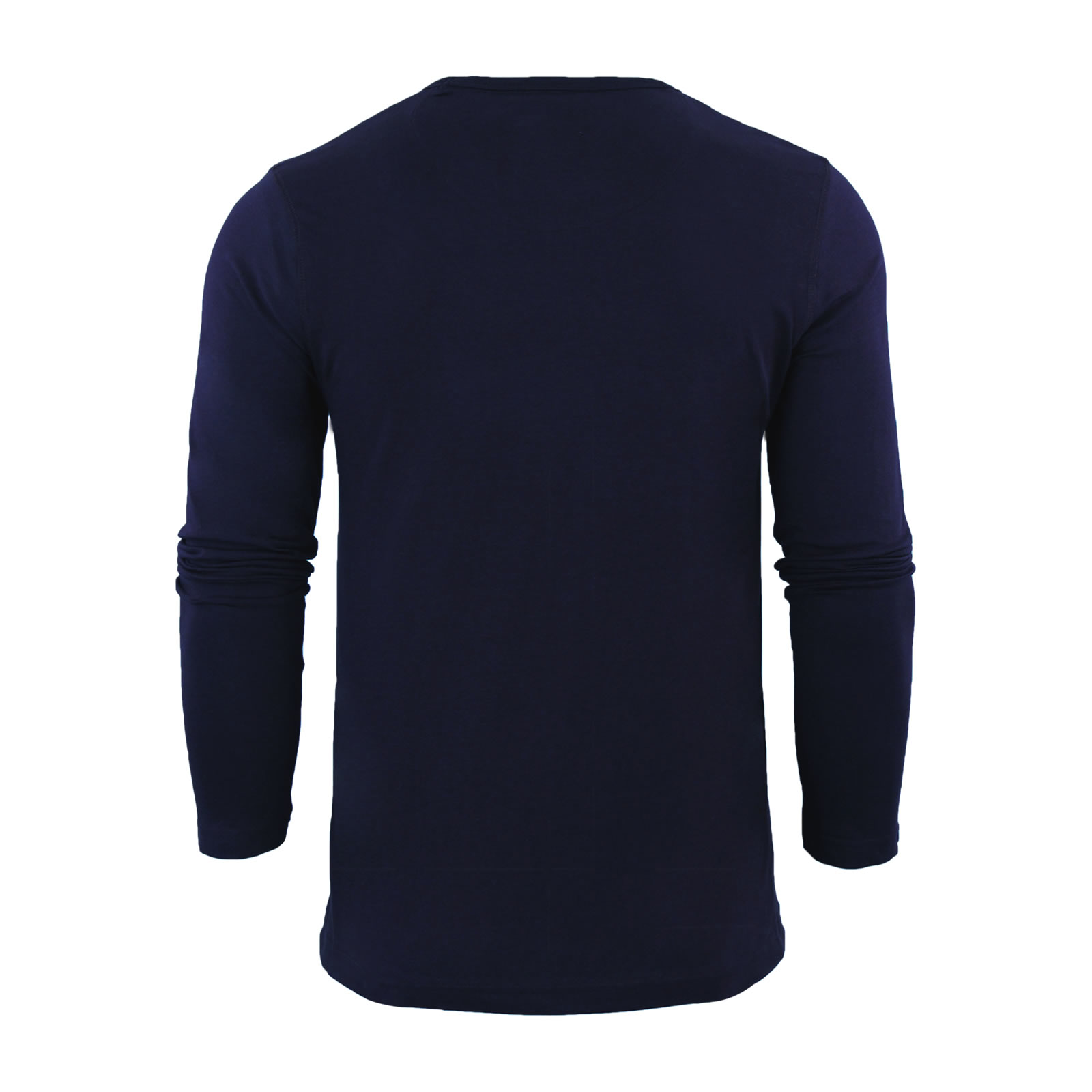 Mens-T-Shirt-by-Brave-Soul-Prague-Cotton-Long-Sleeved-Crew-Neck-Casual-Top thumbnail 18