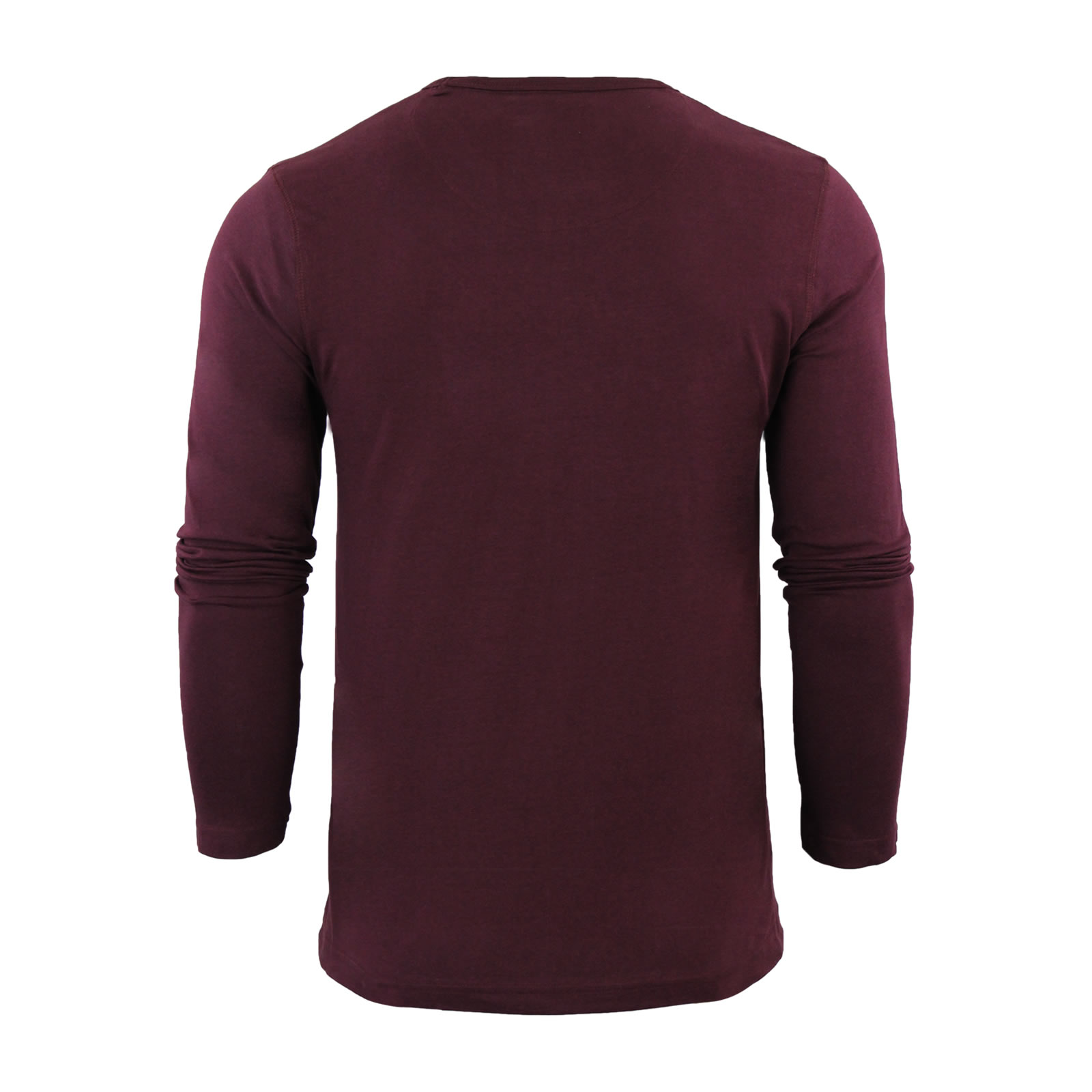 Mens-T-Shirt-by-Brave-Soul-Prague-Cotton-Long-Sleeved-Crew-Neck-Casual-Top thumbnail 21