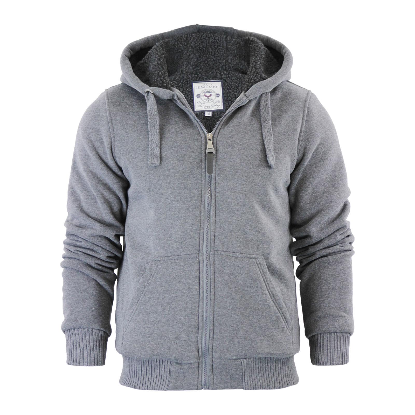 Mens lined hoodie