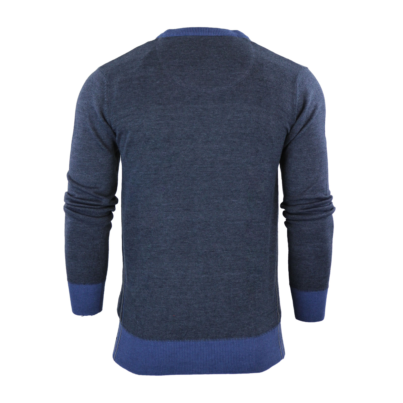 Mens Cardigan Jumper Ringspun Ponder Knitted Button Up Jumper ...