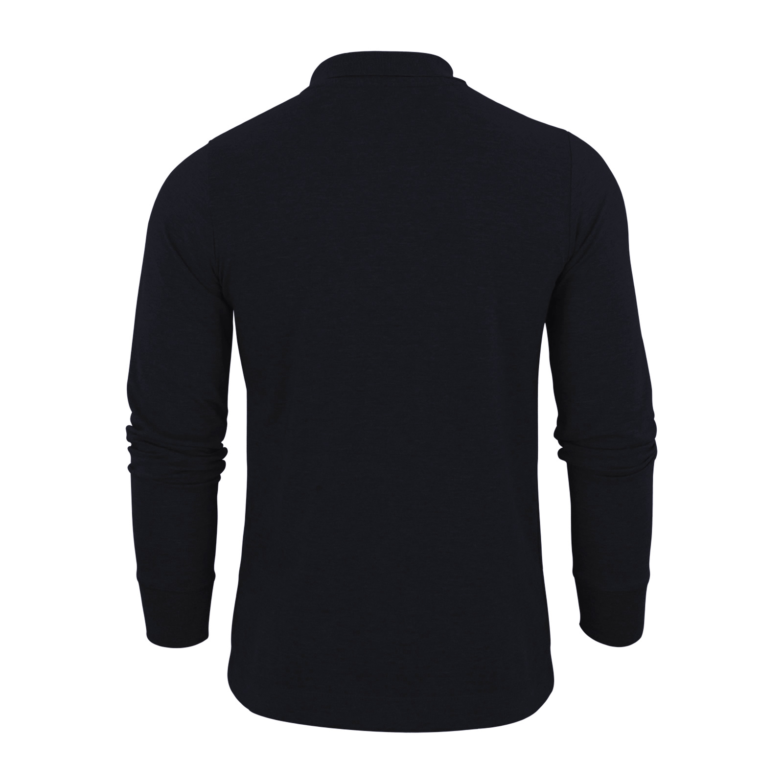 Mens polo t shirt tokyo laundry lowell cotton long sleeve for Mens long sleeve collared polo shirts