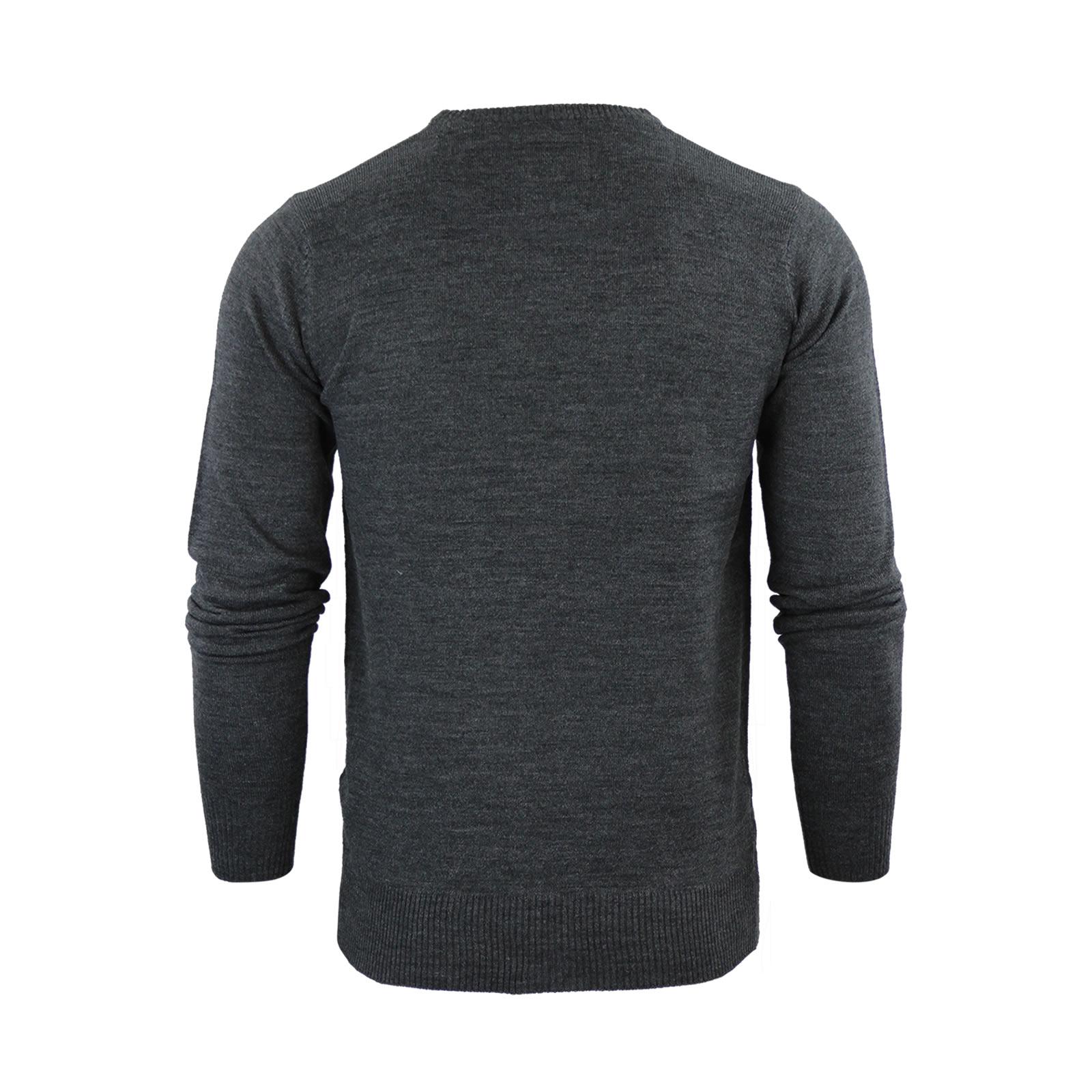 Mens-Jumper-Brave-Soul-Urbain-Knitted-Crew-Neck-Sweater thumbnail 6