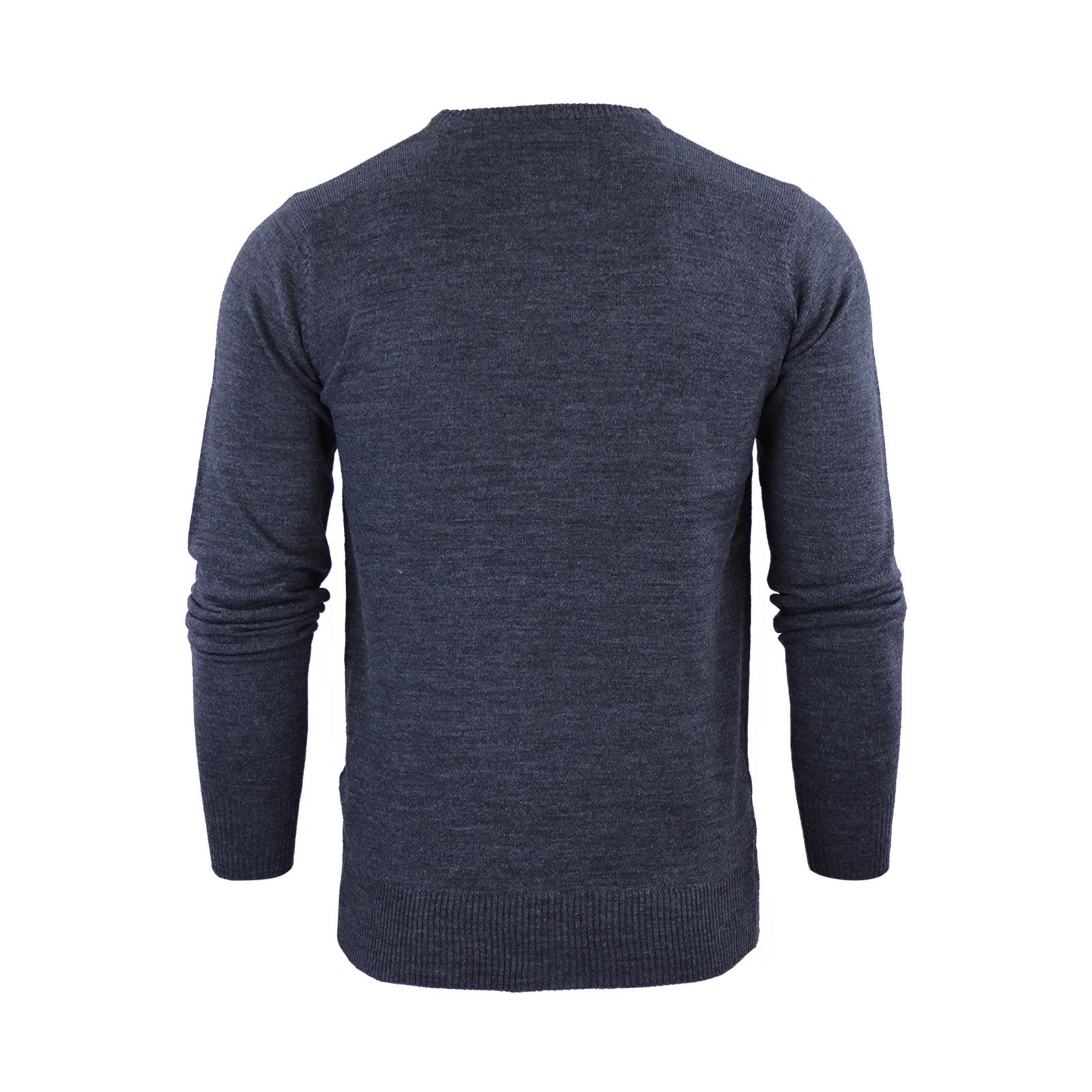 Mens-Jumper-Brave-Soul-Urbain-Knitted-Crew-Neck-Sweater thumbnail 9