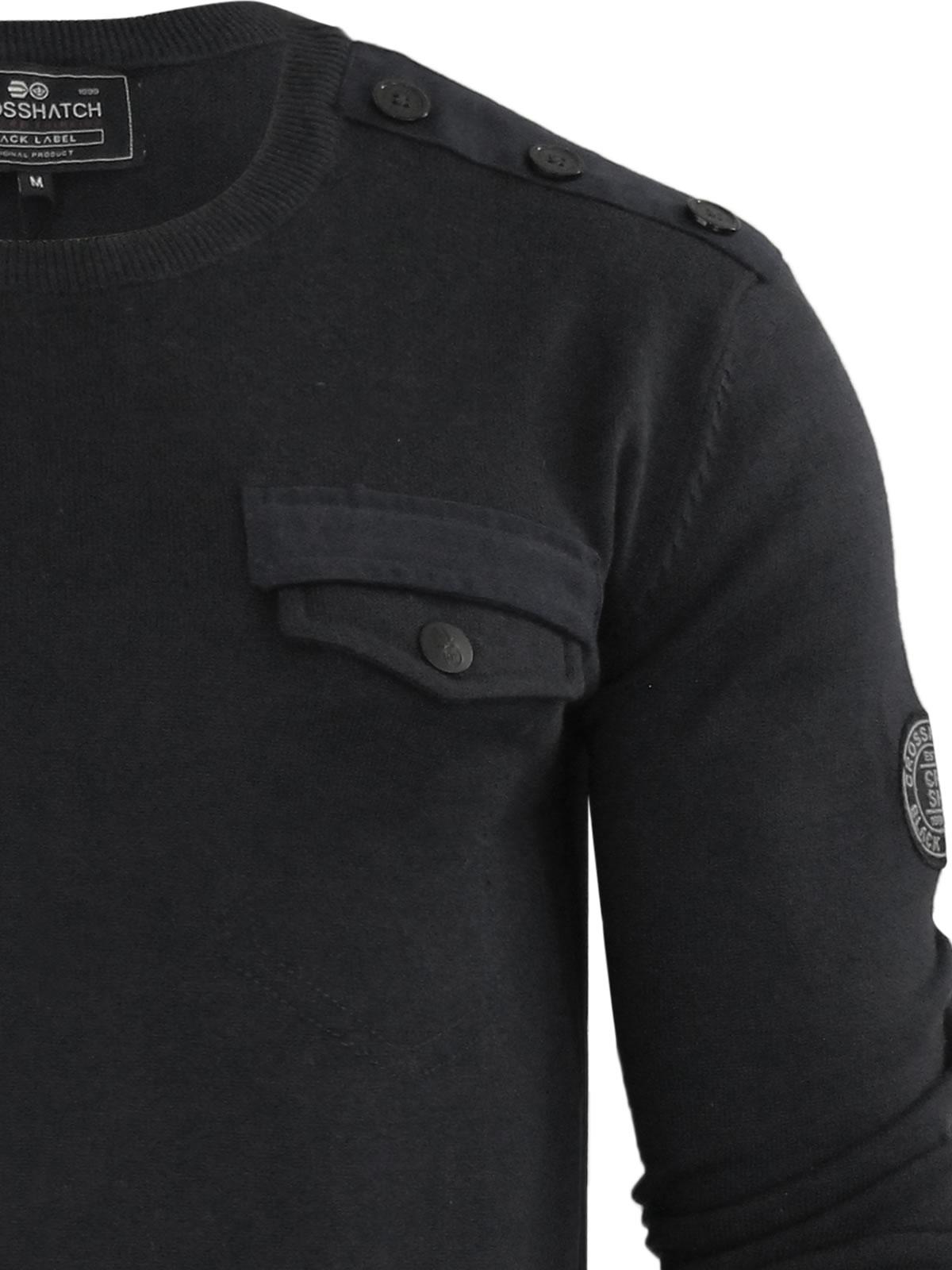 herren-pullover-crosshatch-barrowell-rundhals-strickpullover Indexbild 4