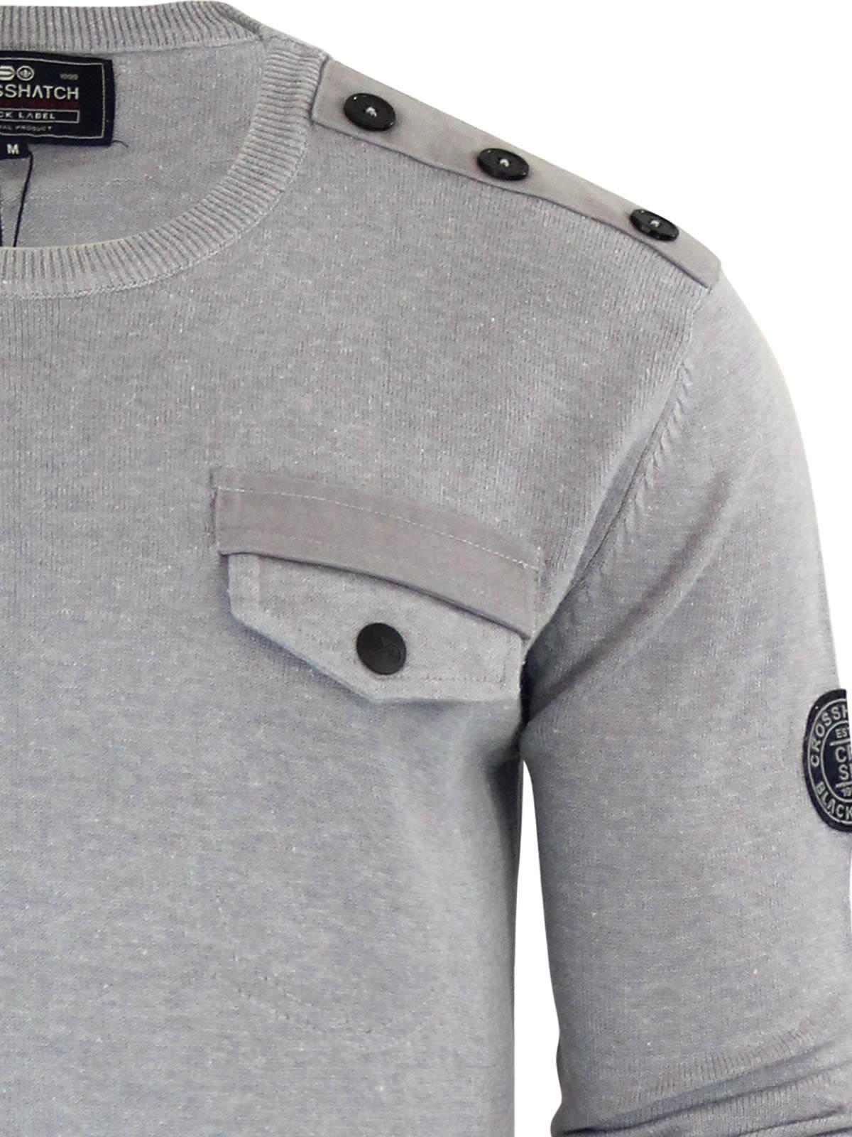 herren-pullover-crosshatch-barrowell-rundhals-strickpullover Indexbild 7