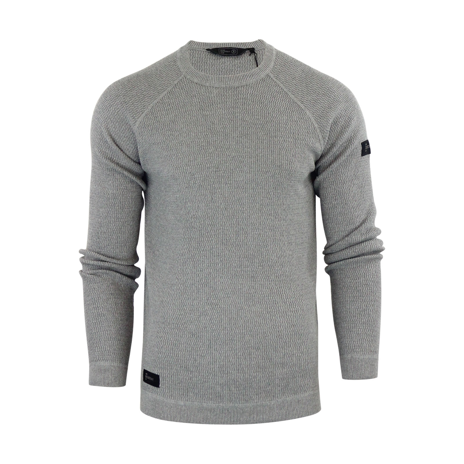 Mens Jumper Dissident Ricardo Cotton Crew Neck Ribbed Sweater | eBay