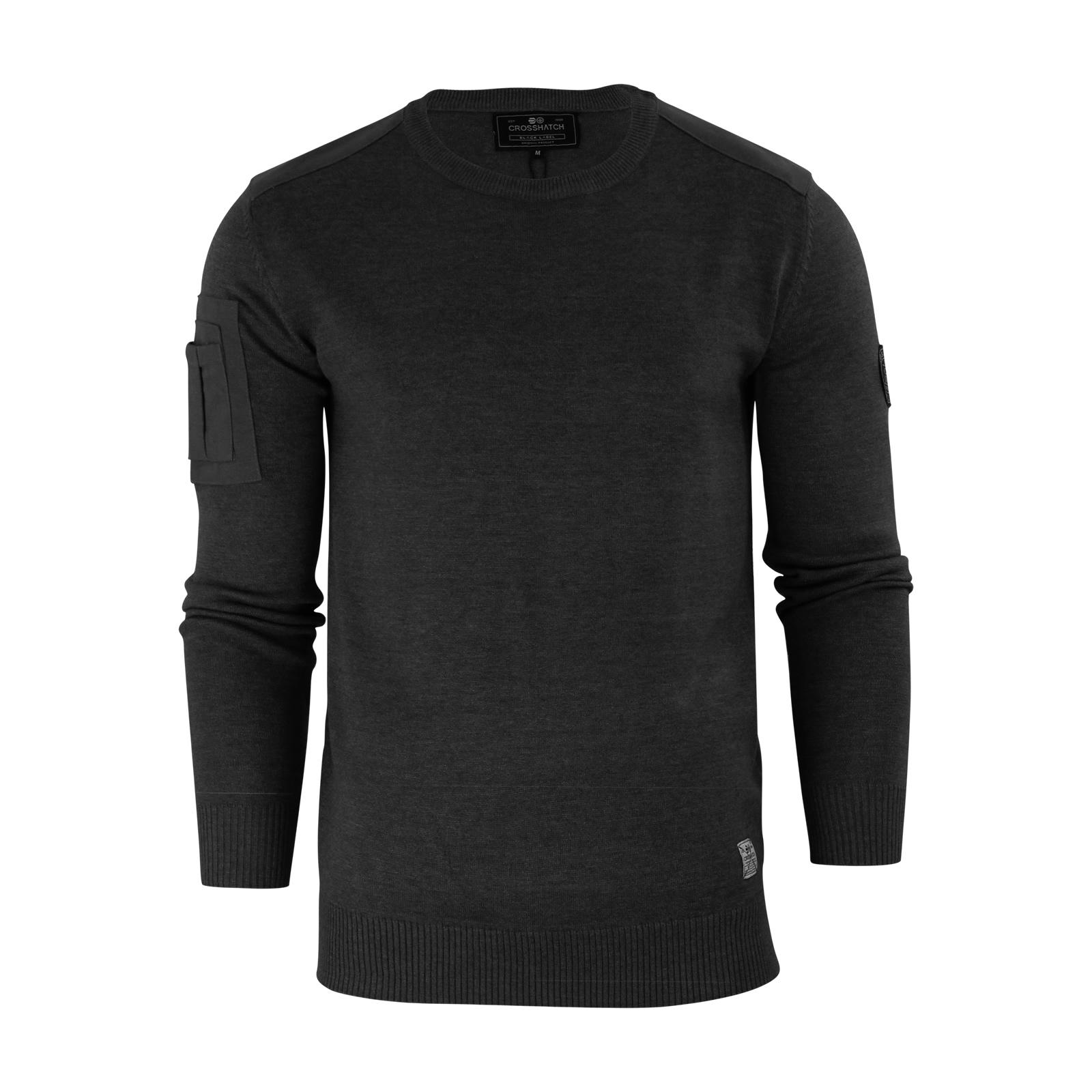 herren-pullover-crosshatch-barrowell-rundhals-strickpullover Indexbild 14