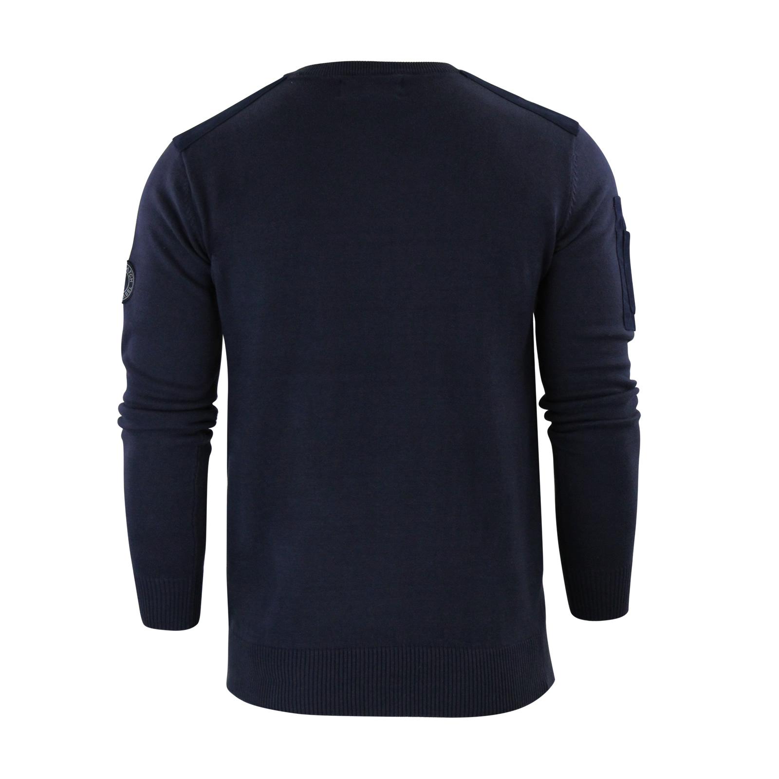 herren-pullover-crosshatch-barrowell-rundhals-strickpullover Indexbild 18