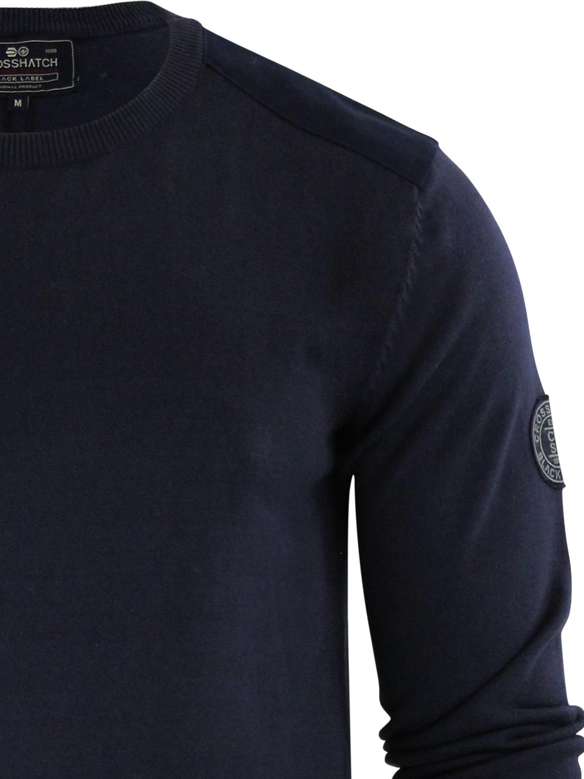 herren-pullover-crosshatch-barrowell-rundhals-strickpullover Indexbild 19