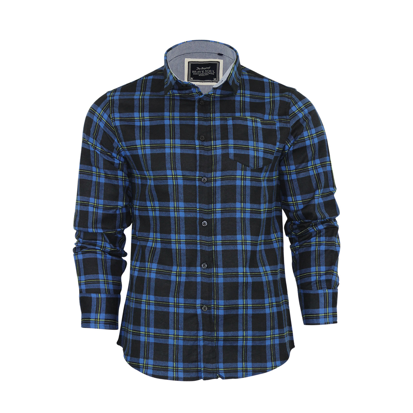 Men's Casual Shirts An indisputable essential, the long sleeve button down shirt is a must-have for any collection. Made with dressy and casual styling, these shirts feature point collars, barrel button cuffs, patch pockets and logo detailing.