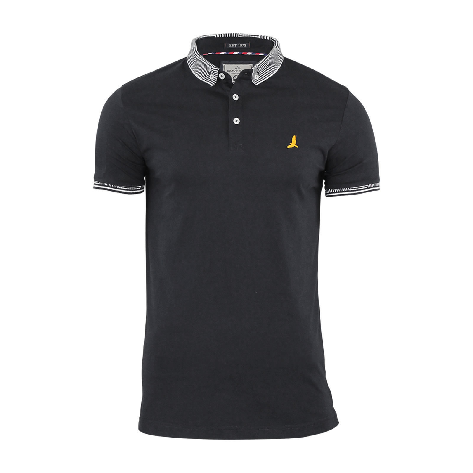 Mens-Polo-T-Shirt-Brave-Soul-Glover-Cotton-Collared-Short-Sleeve-Casual-Top thumbnail 12