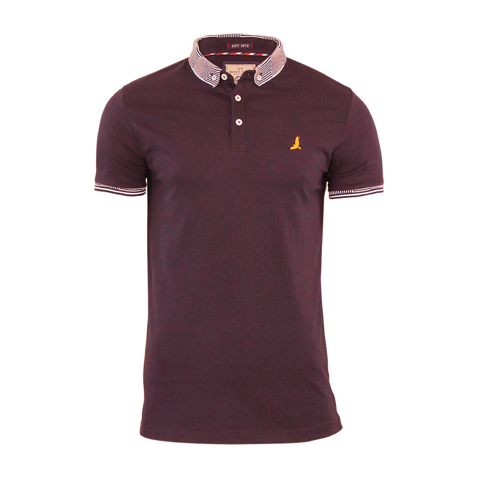 Mens-Polo-T-Shirt-Brave-Soul-Glover-Cotton-Collared-Short-Sleeve-Casual-Top thumbnail 15