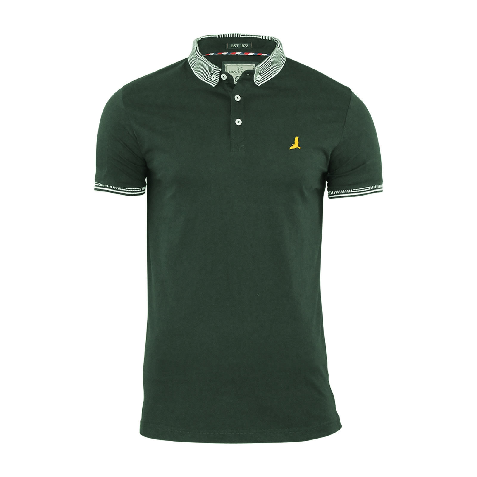 Mens-Polo-T-Shirt-Brave-Soul-Glover-Cotton-Collared-Short-Sleeve-Casual-Top thumbnail 21
