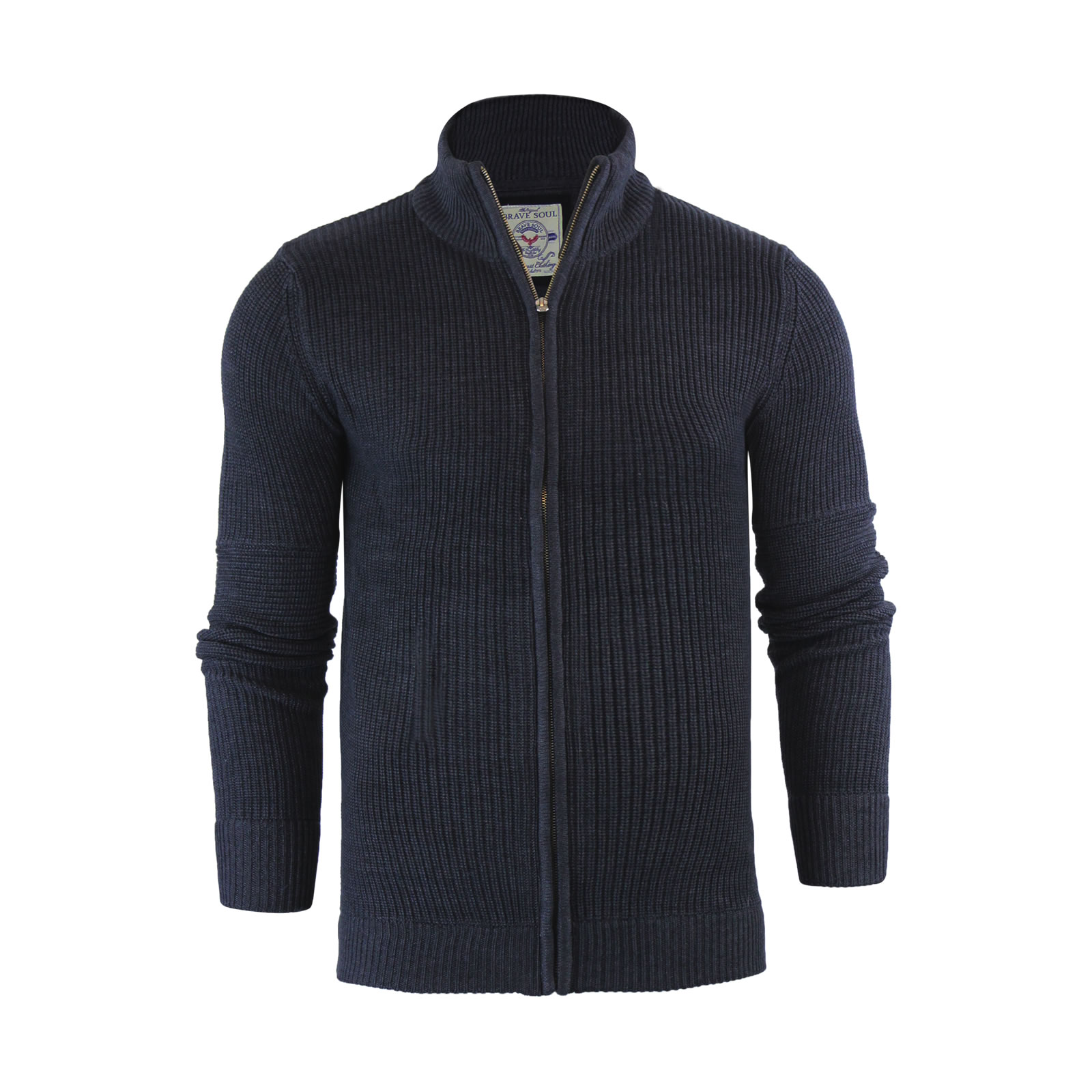 Mens Zip Cardigan Sweaters - English Sweater Vest