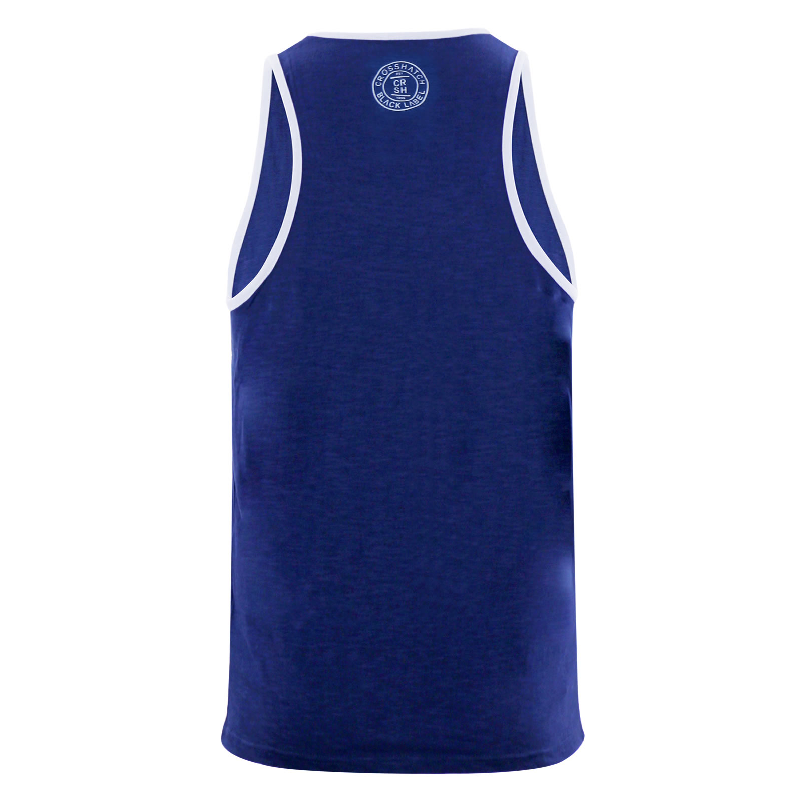 miniature 6 - Homme-debardeur-t-shirt-crosshatch-alfa-summer-muscle-back-tank-top