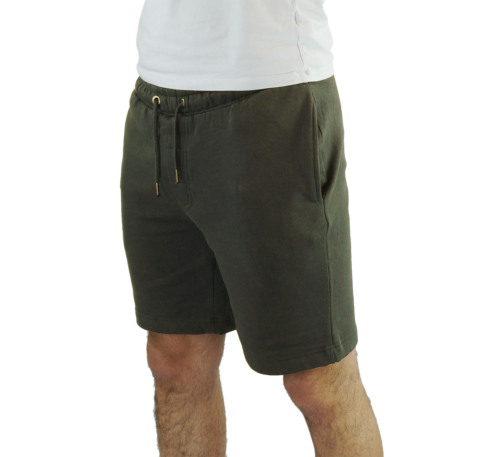 Mens Jogger Shorts Brave Soul Tarlet Jersey Gym Pants Elasticated ...