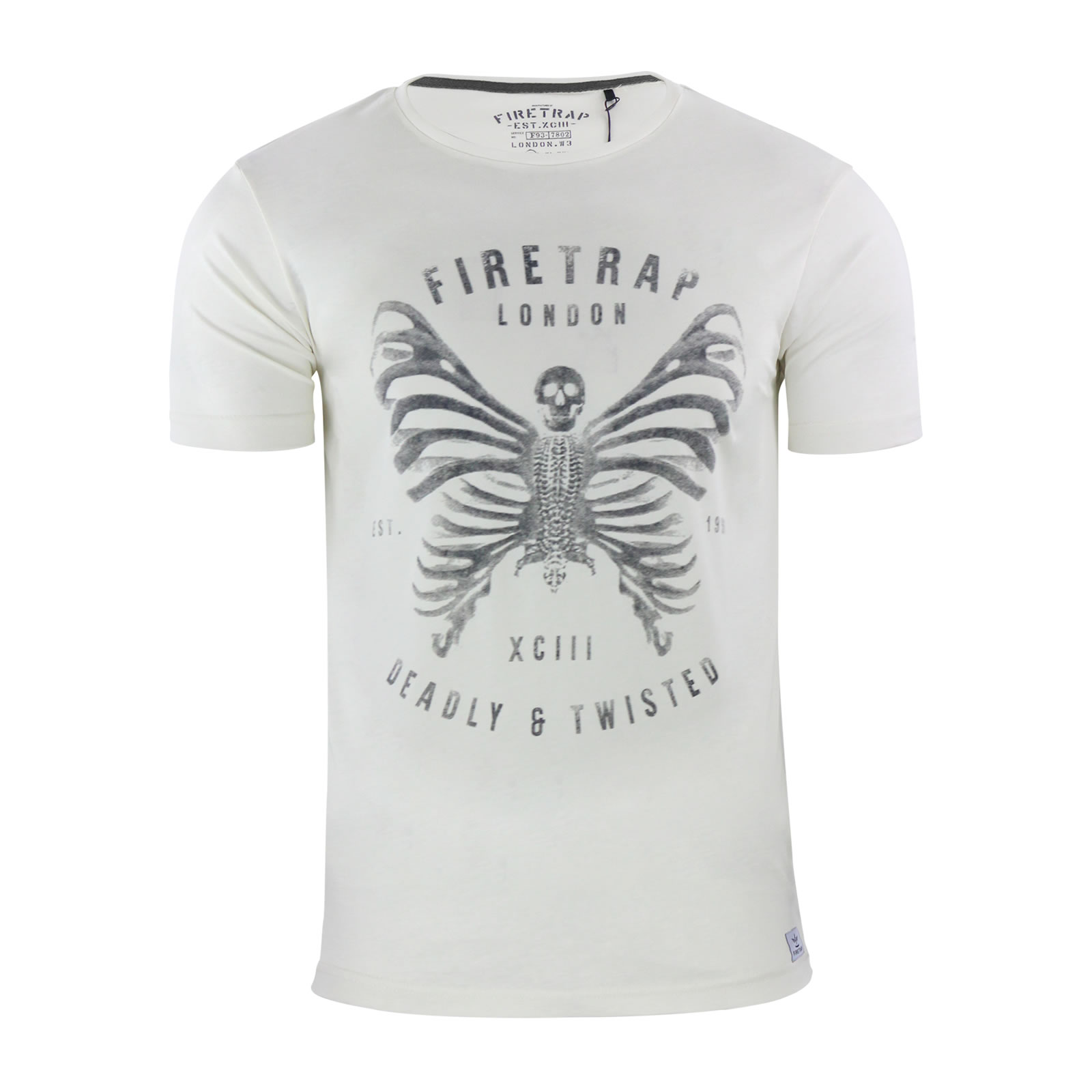 Mens Maleb Short Sleeve T - Shirt Firetrap Cheap Sale Websites All Seasons Available Cheap Official Site Free Shipping Pick A Best Wide Range Of Sale Online oYsS9iy
