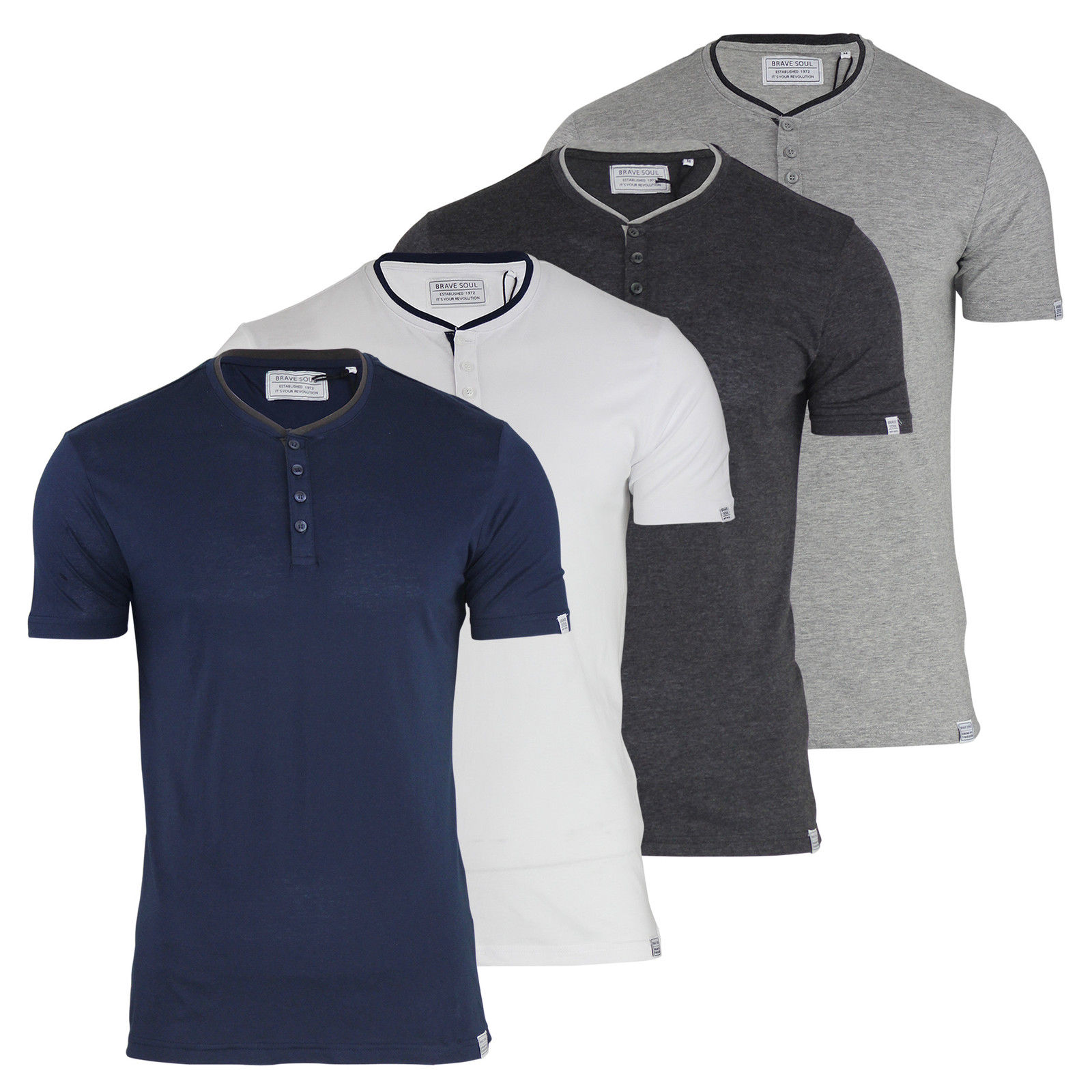 Mens Button Up T Shirts | Is Shirt