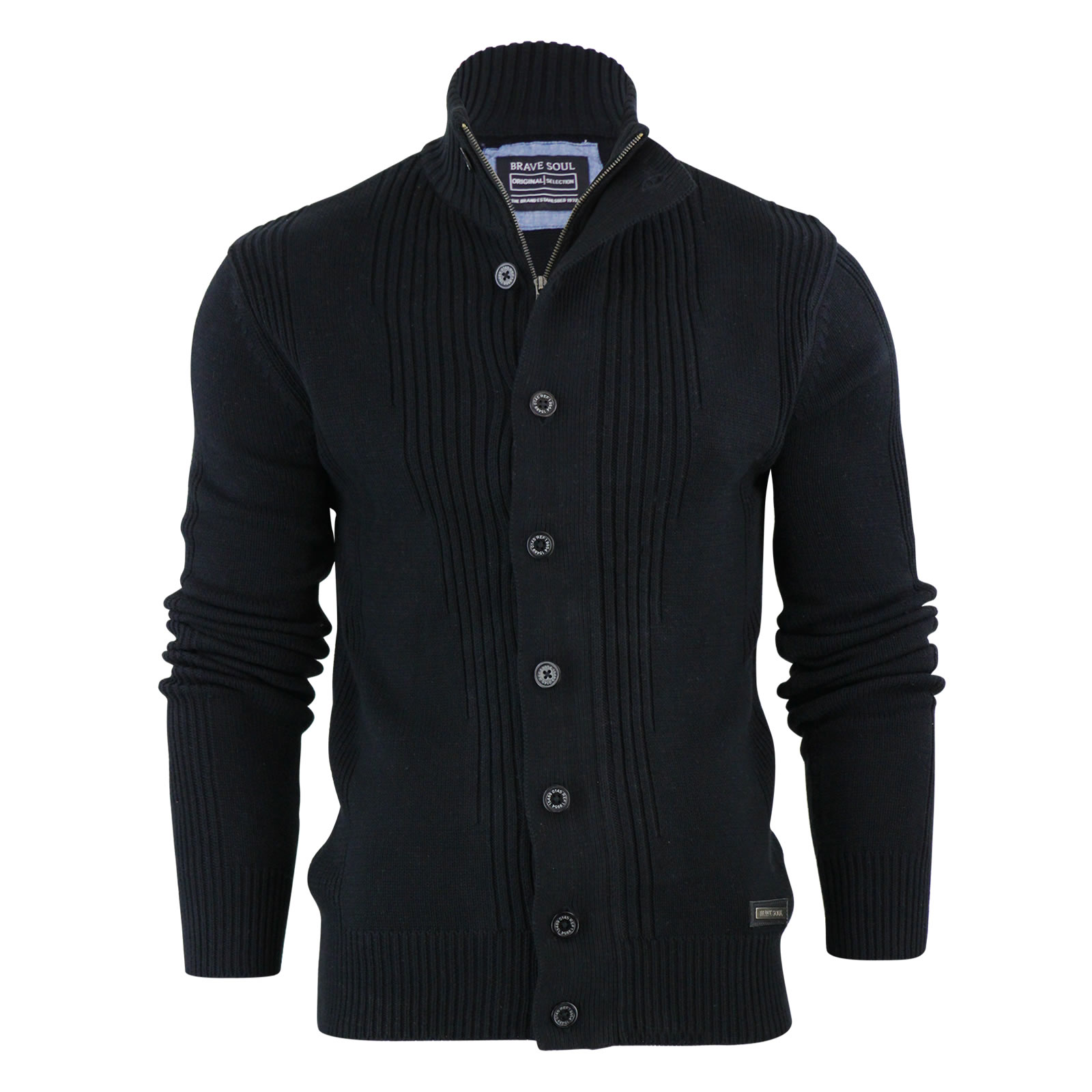 Mens Button Up Cardigan Sweater - Gray Cardigan Sweater