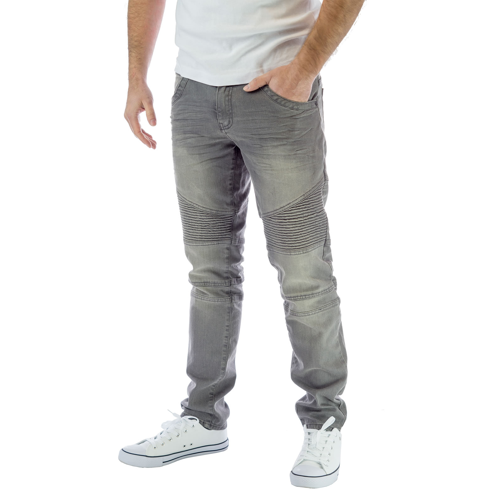 For full-on comfort no matter what your day demands, don these men's Modern Series slim tapered leg jeans from roeprocjfc.gaed to feel natural and give you maximum range of motion, these mid-rise jeans rest slightly below your waist and feature fabric with four-way stretch.