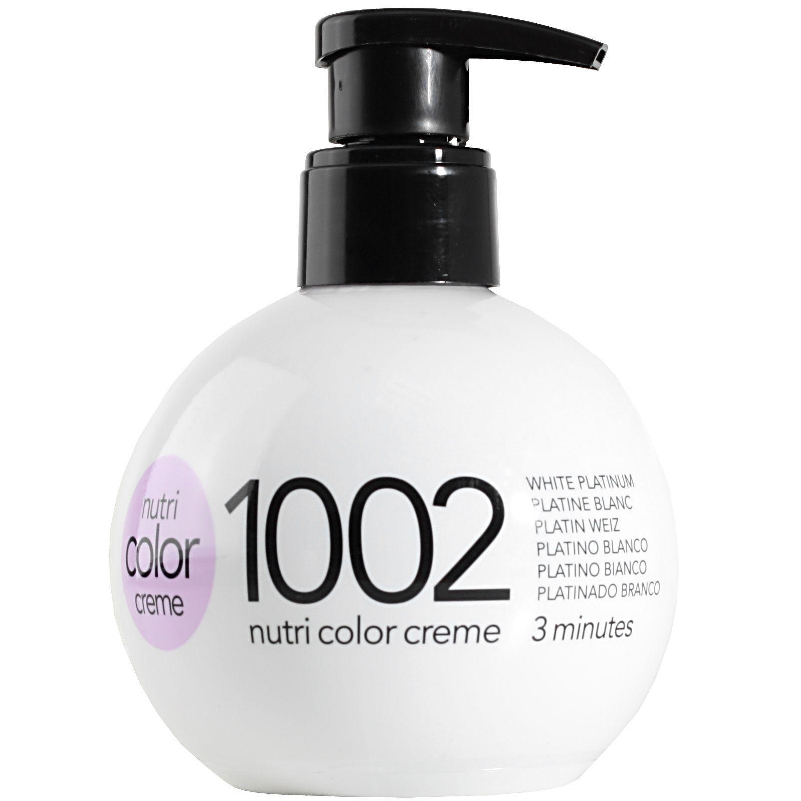 Revlon Professional Nutri Color Creme 1002 White Platinum 250ml   eBay