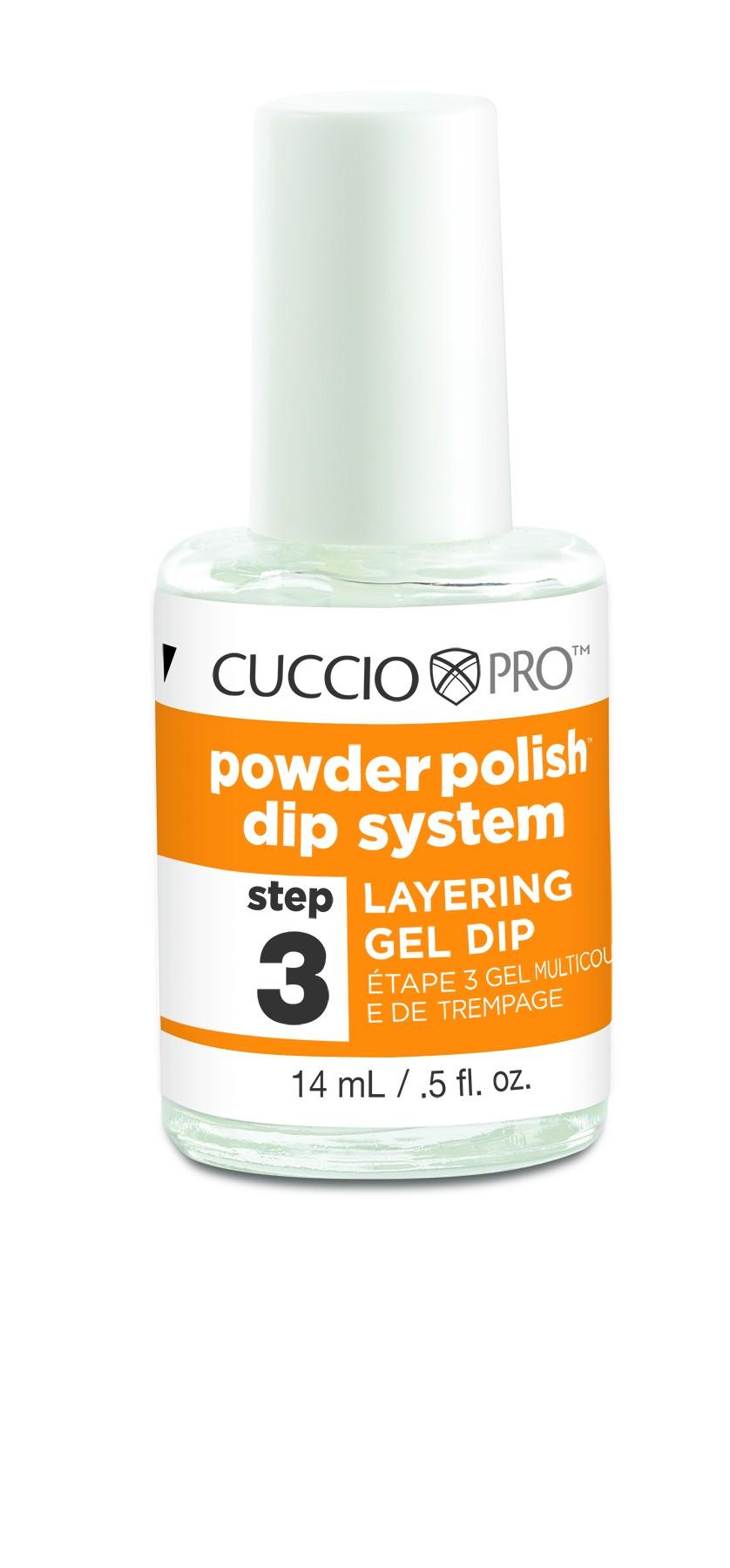 Powdered Gel Nails Design Vj Nails In Calgary Alberta: Cuccio Powder Polish Dip System Layering Gel 14ml (Step 3