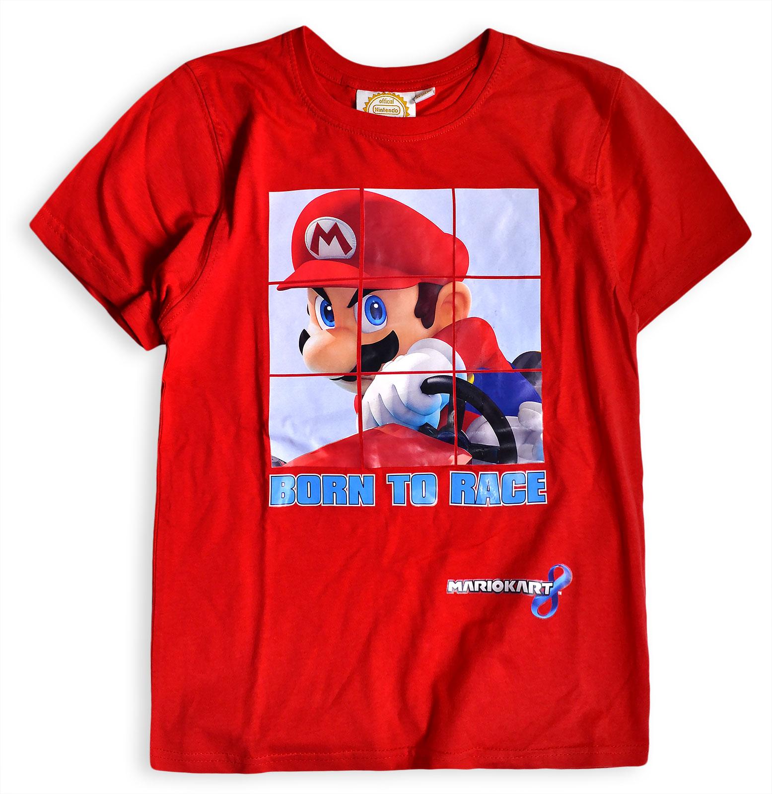 Boys Super Mario T Shirt New Kids Short Sleeved Cotton