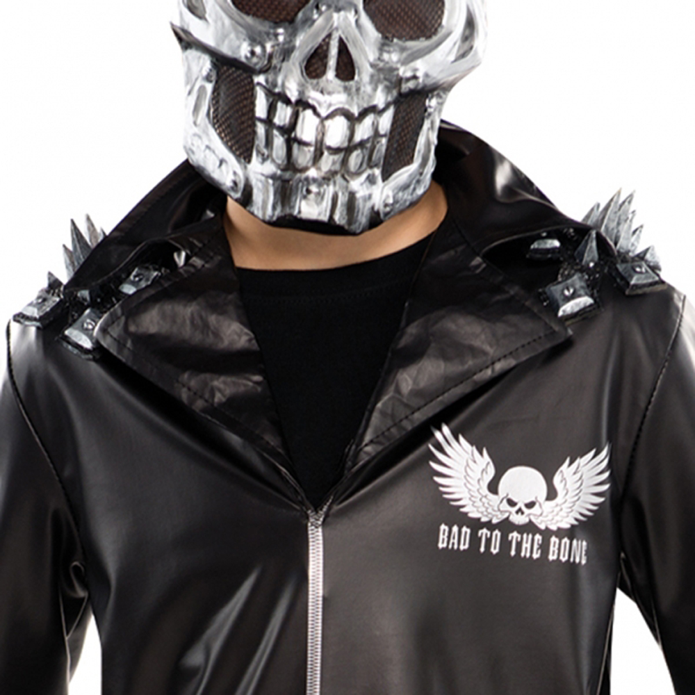 'Ghost Rider 2' New Clip Sees the Cursed Biker Ready to ... |Ghost Rider Bad Guy Look
