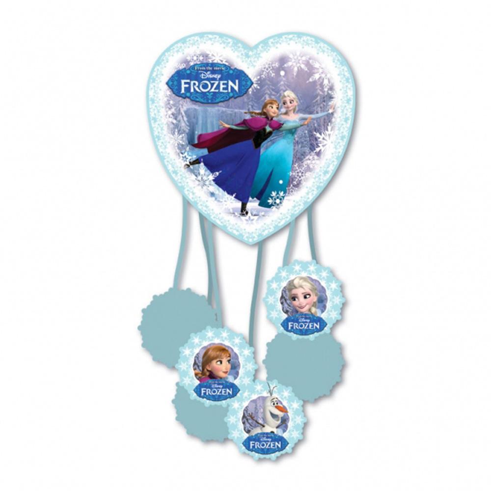 Disney Frozen Party Pinata Featuring Anna Elsa Skating