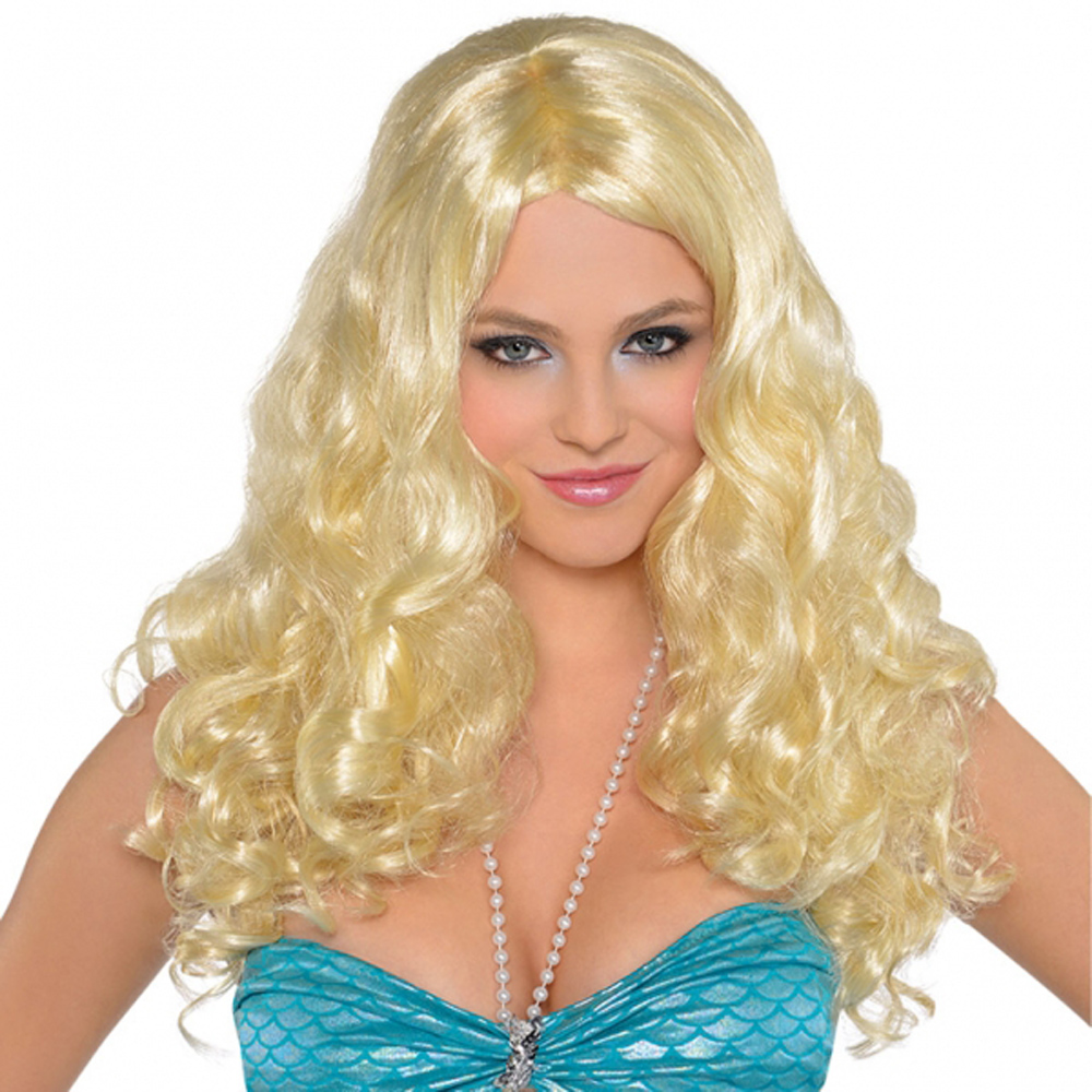 Long Blonde Girl Wig 65