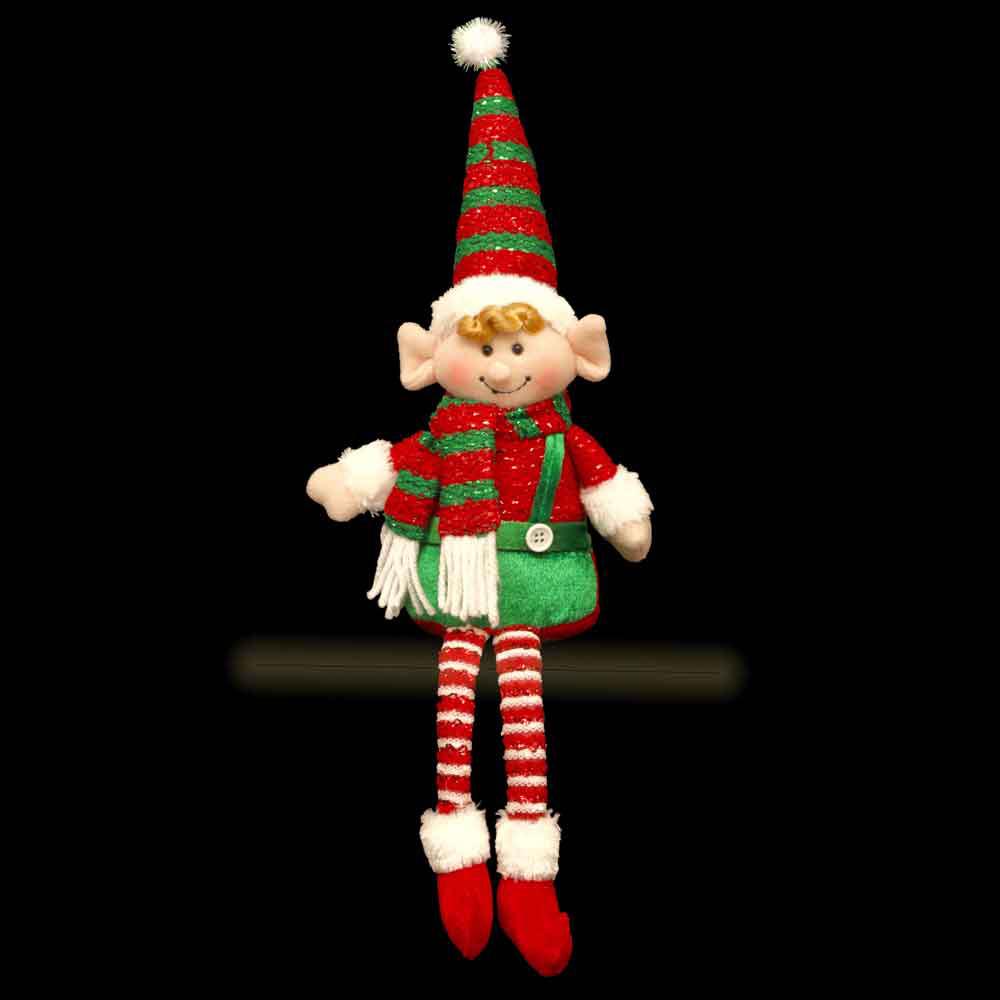 Elf Shelf Sitter Christmas Decoration / Gift 40cm