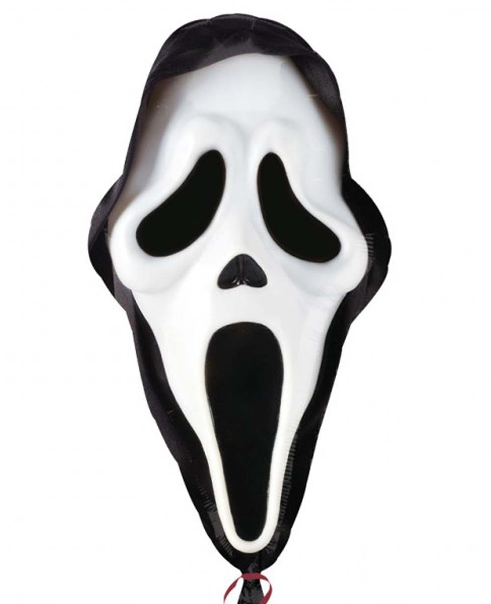 Halloween Ghost Mask LARGE Helium Balloon Scream Halloween Party ...