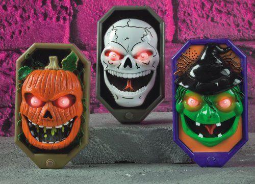 Decorating Ideas > Halloween Battery Operated Door Bell With Spooky Sounds  ~ 084113_Halloween Doorbell Sounds