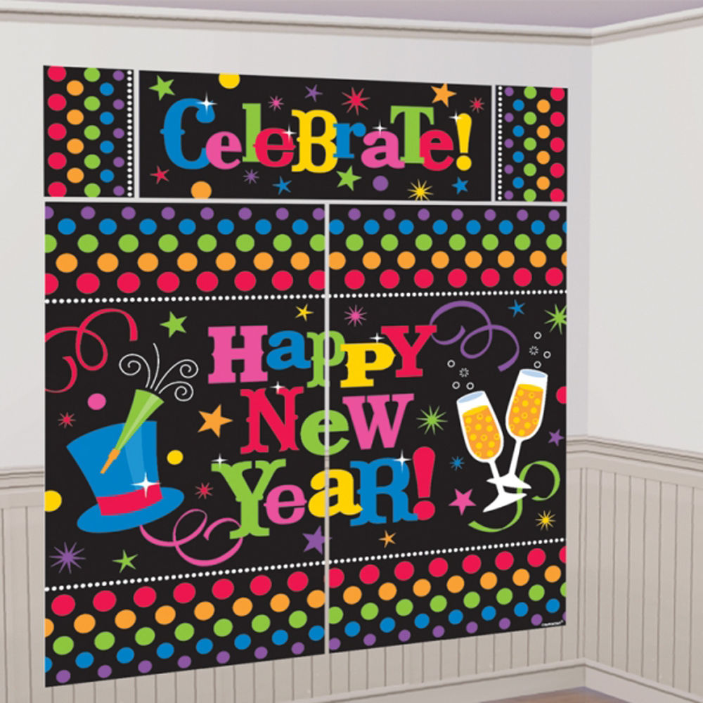 Wall Decoration For Event : New year party decoration wall setter backdrop