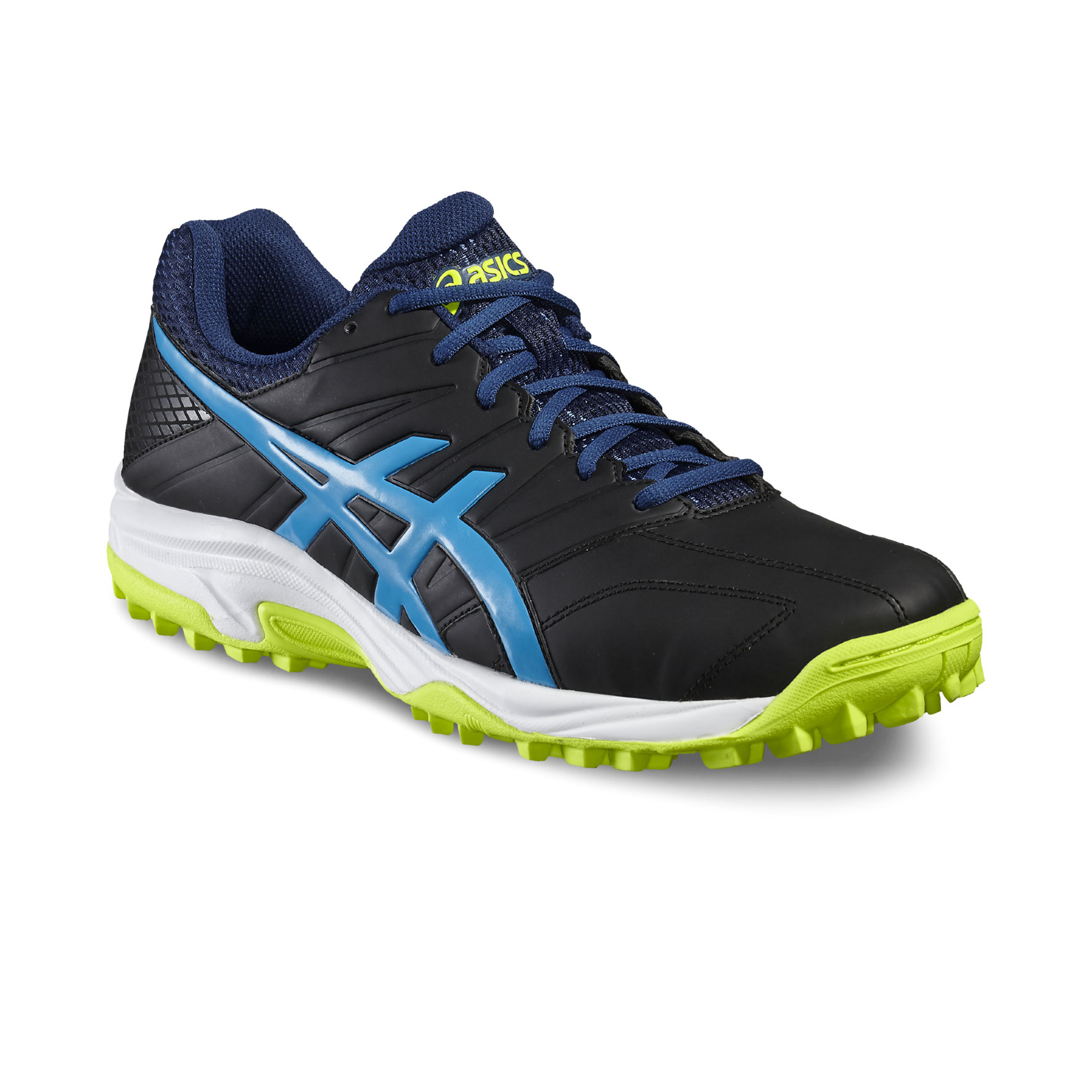 Asics Gel Lethal Mp  Hockey Shoes Black Blue