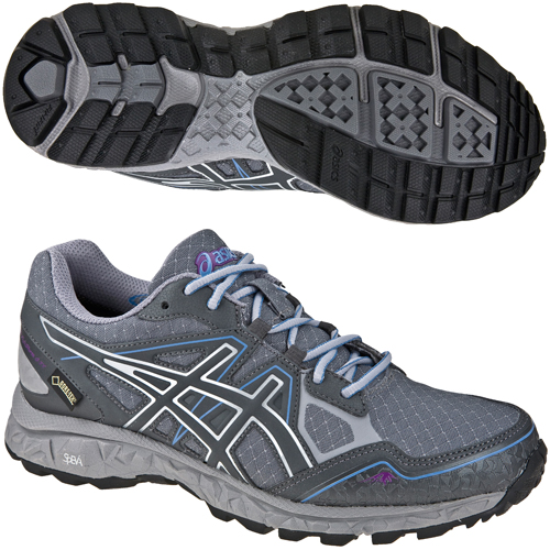 asics womens gel fujistorm g tx gore tex walking hiking shoes ebay. Black Bedroom Furniture Sets. Home Design Ideas
