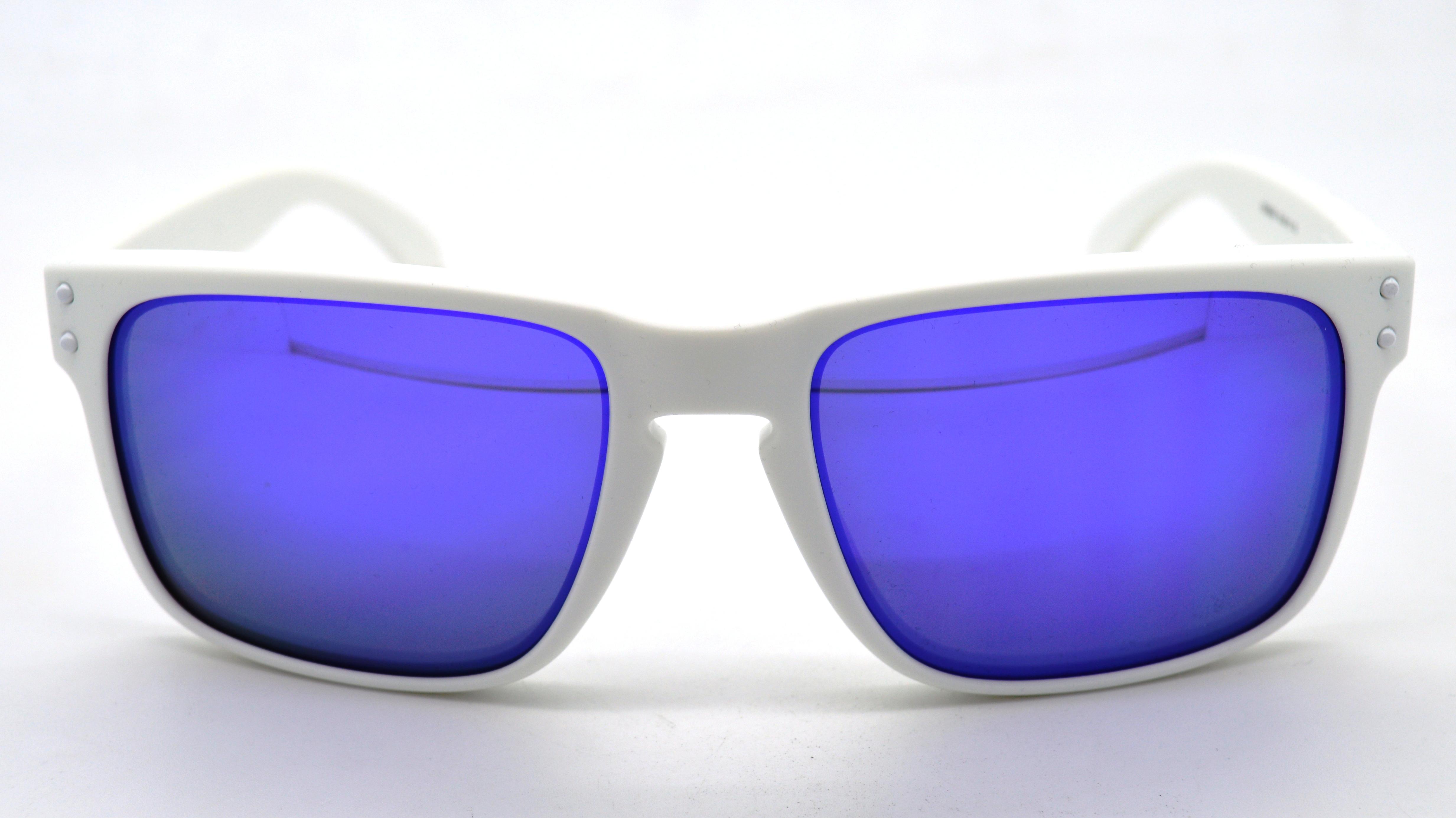 691357d6f9c Oakley Holbrook Matte White Violet Iridium « Heritage Malta