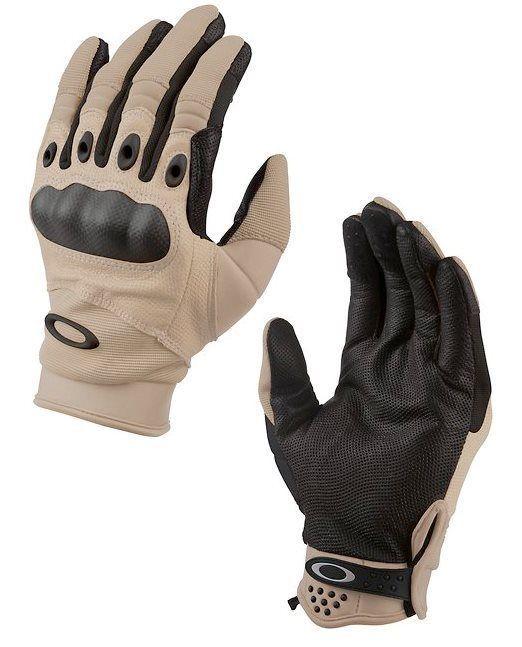 oakley bike gloves 1yjc  Oakley SI Assault Tactical / Factory Pilot Glove in Desert Tan / New Khaki  NEW